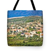 Picturesque Mediterranean Island Village Of Kolan Tote Bag