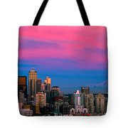 Picturesque Seattle Tote Bag