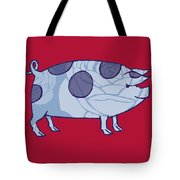 Piddle Valley Pig Tote Bag
