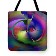 Pie In The Sky Tote Bag by Jimi Bush