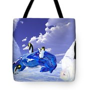 Piece Of Ice Tote Bag