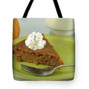 Piece Of Pumpkin Pie Tote Bag