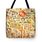 Pieces Of Paper Tote Bag