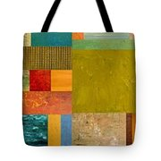Pieces Project Lv Tote Bag by Michelle Calkins
