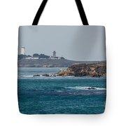 Piedras Blancas Lighthouse A2155 Tote Bag