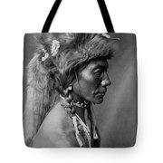 Piegan Indian Circa 1910 Tote Bag