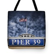 Pier 39 Tote Bag