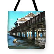 Pier 60 - Clearwater Florida  Tote Bag