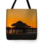 Pier 60 Sunset Tote Bag