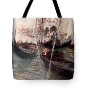 Pier And Saint Marc In Venice Tote Bag