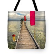Pier Flags Tote Bag