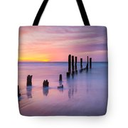 Pier Into The Past 16x9 Tote Bag