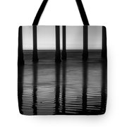 Pier Reflections Tote Bag