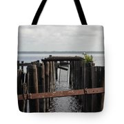 Pier To Nowhere Tote Bag