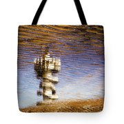 Pier Tower Tote Bag by Dave Bowman