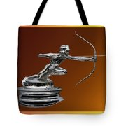 Pierce Arrow Hunter Mascot Tote Bag
