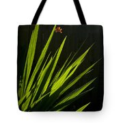 Piercing Green Tote Bag