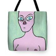 Pig Lady Tote Bag