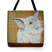 Pig Smile Tote Bag