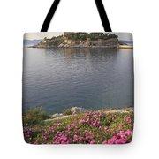 Pigeon Island Kusadasi Turkey  Tote Bag