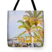 Pigeon Key - Home Tote Bag