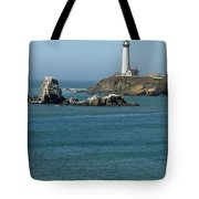 Pigeon Point Lighthouse Near Half Moon Bay-san Francisco Tote Bag