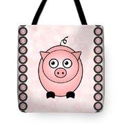 Piggy - Animals - Art For Kids Tote Bag