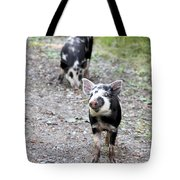 Piglets On The Loose Tote Bag