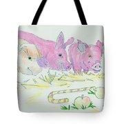Pigs Cartoon Tote Bag