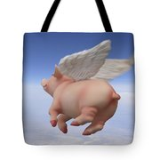 Pigs Fly 2 Tote Bag
