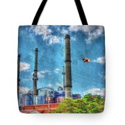 Pigs On The Wing Revisited Tote Bag