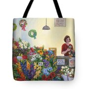 Pikes' Flower Market Tote Bag