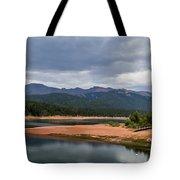 Pikes Peak From Crystal Creek Reservoir  Tote Bag