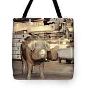 Pikes Peak Market Pig Tote Bag