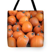Piles Of Pumpkins Tote Bag