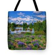 Pilgrim Creek Wildflowers Tote Bag