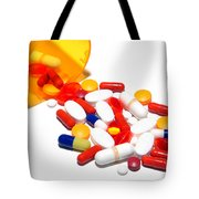 Pill Cocktail    Tote Bag