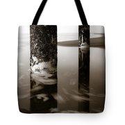 Pillars And Swirls Tote Bag