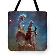 Pillars Of Creation Tote Bag
