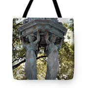 Pillars Of New Orleans Tote Bag