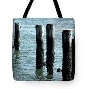 Pillars Of The Sea Tote Bag