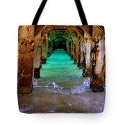 Pillars Of Time Tote Bag by Karen Wiles
