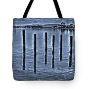 pillars on the Bay Tote Bag