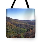 Pilot Mountain Near Balsam Grove Tote Bag