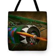 Pilot - Plane - German Ww1 Fighter - Fokker D Viii Tote Bag by Mike Savad