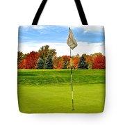 Pin High Tote Bag