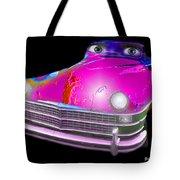 Pin Up Cars - #1 Tote Bag by Gunter Nezhoda