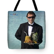 Pina Colada Anyone Tote Bag