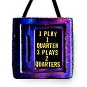 Pinball Pricing Tote Bag