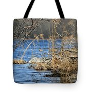 Pine Acres Lake Blues  Tote Bag